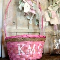 Last Minute Easter Basket Fix Up