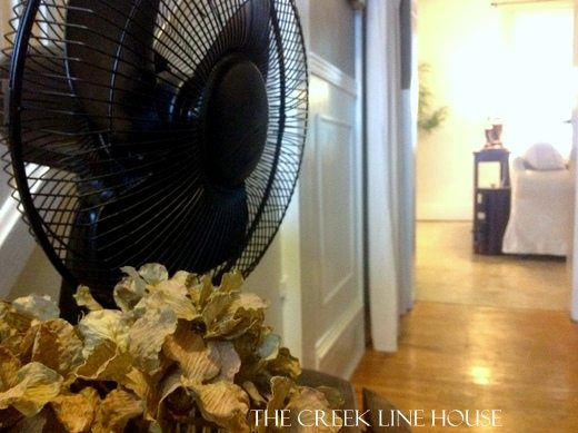 Yes, you can personalize that boring, white plastic fan by adding a pop of color or creating a vintage look. Here's the best way to paint a fan.