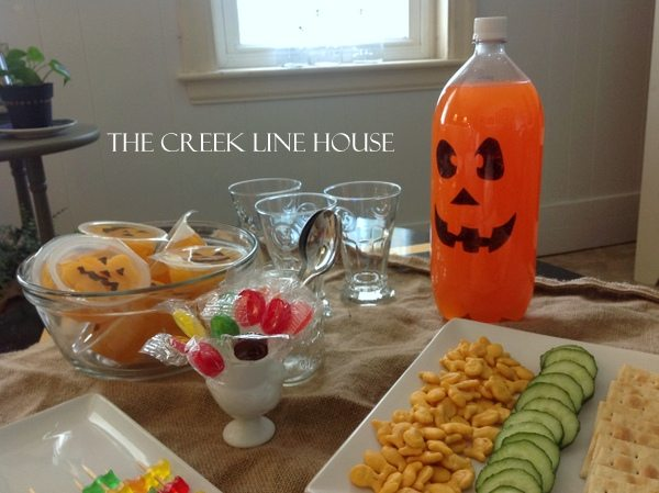a pinterest inspired halloween party in august