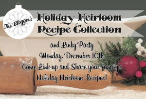 Heirloom Recipe Collection Party