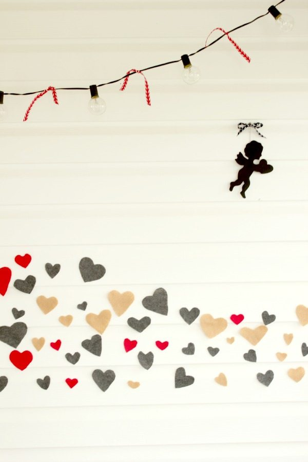 A fun and whimsical way to decorate for Valentine's Day this year!