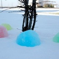Giant Ice Marbles: Not a total disaster!