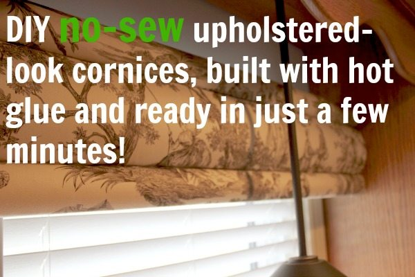 Diy no sew cornices built with hot glue the creek line house i recently had the chance to try out these really neat diy cornice kits from the cornice store solutioingenieria Images