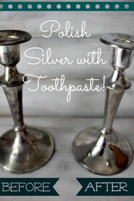 How To Polish Your Silver With Toothpaste