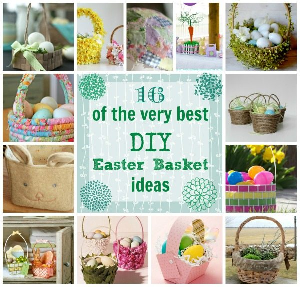 16 of the very best diy easter basket ideas the creek line house ever since i made my faux sew easter basket liner a couple of weeks ago ive been smitten with all the cute baskets i keep seeing around lately negle