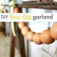 How to Make a Real Egg Easter Garland