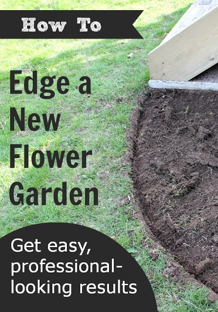 Create amazingly beautiful flower beds in your yard this spring with one easy tip.  Here's how to edge a flower bed quickly and easily and have your own professional-looking gardens to enjoy.