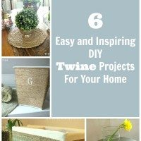 6 Easy and Inspiring DIY Twine Projects for Your Home