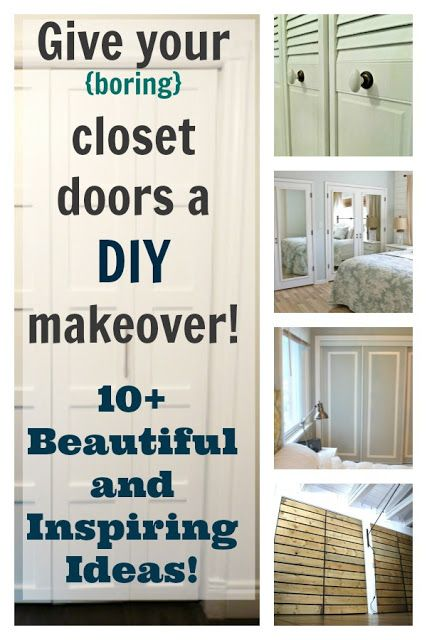 The Creek Line House: DIY Closet Doors - 10+ Beautiful and Inspiring Ideas!