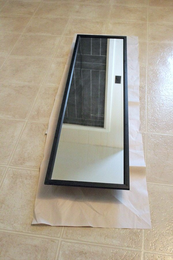 An Easy Update for a Cheapo Full-Length Mirror   The Creek Line House