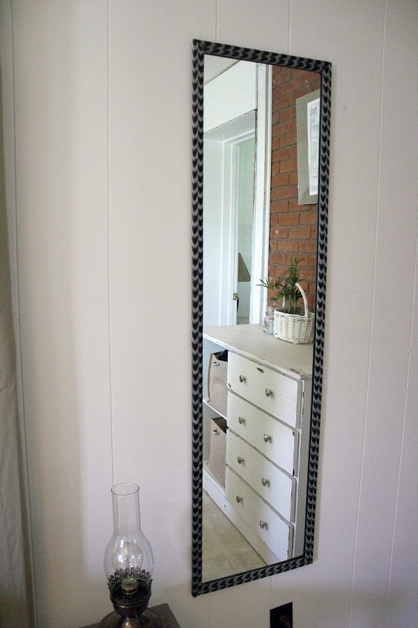 An Easy Update for a Cheapo Full-Length Mirror | The Creek Line House