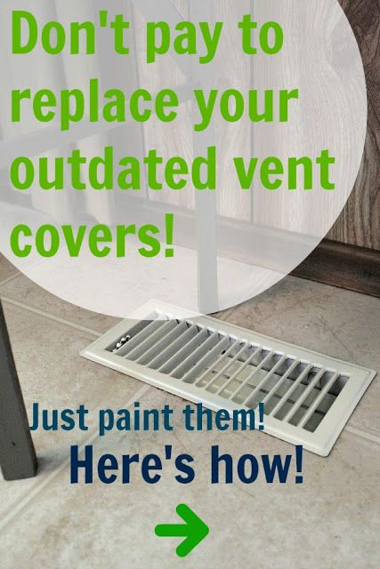the creek line house how to paint your vent covers instead of paying to replace