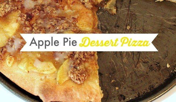 Super Easy Apple Pie Dessert Pizza!