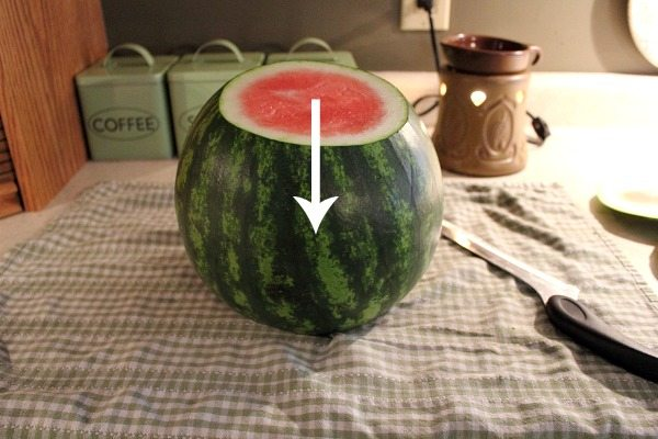 Did you know there's an easy way to cut watermelon?  You'll never fear cutting a watermelon again once you know these simple steps.