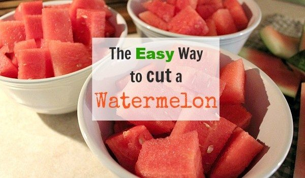 The Easy Way to Cut a Watermelon!