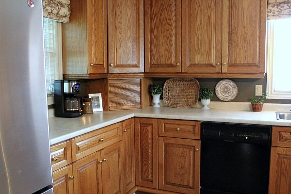 diy kitchen backsplash it doesn t get any easier than this the