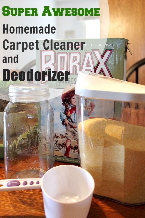 Homemade Carpet Cleaner and Deodorizer DIY | The Creek ...
