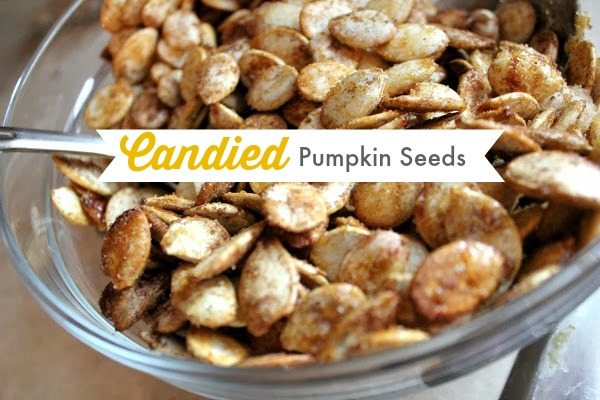 Candied Pumpkin Spice Pumpkin Seeds - The Creek Line House