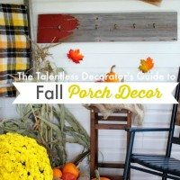 The Talentless Decorator's Guide to Fall Porch Decor