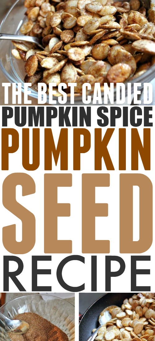 Are you getting all set to start carving your pumpkins for Halloween? I have the best pumpkin seed recipe for you!