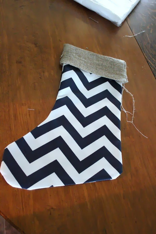 Super Easy DIY Christmas stockings