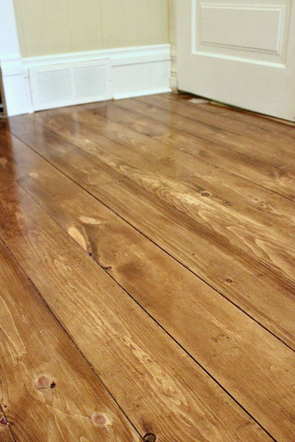 How to install beautiful wood floors using basic unfinished lumber how to install beautiful wood floors using basic unfinished lumber solutioingenieria Gallery