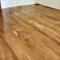 How to Install Beautiful Wood Floors Using Basic Unfinished Lumber