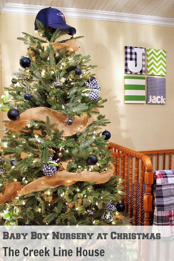 a boyish christmas tree perfect for a little boys room or a nursery love - Christmas Tree Nursery