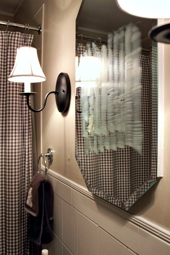 Bathroom Mirror Non Steam how to keep your bathroom mirror fog-free! - the creek line house
