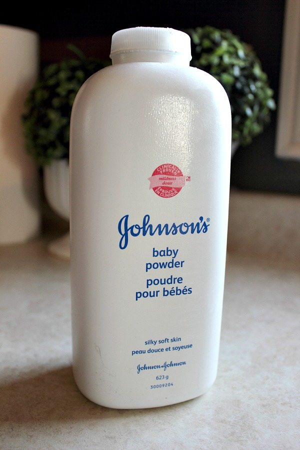 10 Tips For Using Baby Powder Around The House The Creek