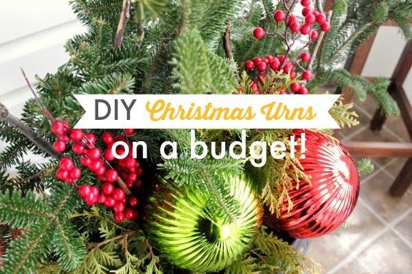Diy christmas urns on a budget the creek line house solutioingenieria Gallery