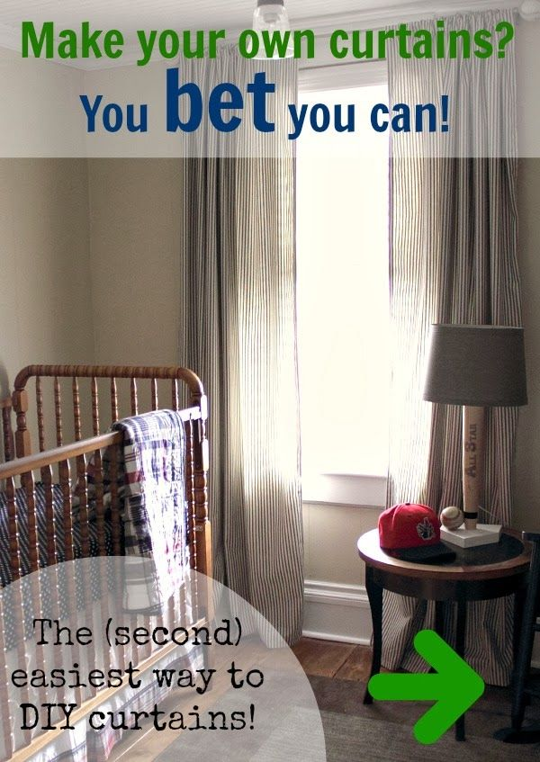 Extra Easy DIY Curtains | The Creek Line House