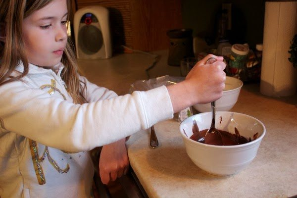 How to Make Peppermint Bark - A Great Mason Jar Gift Idea. Step 1 - Chocolate