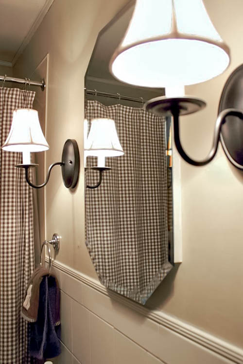 This amazing trick will keep your bathroom mirror fog free. Clear before.