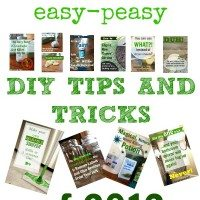 The Top 10 Easy-Peasy DIY Tips and Tricks of 2013