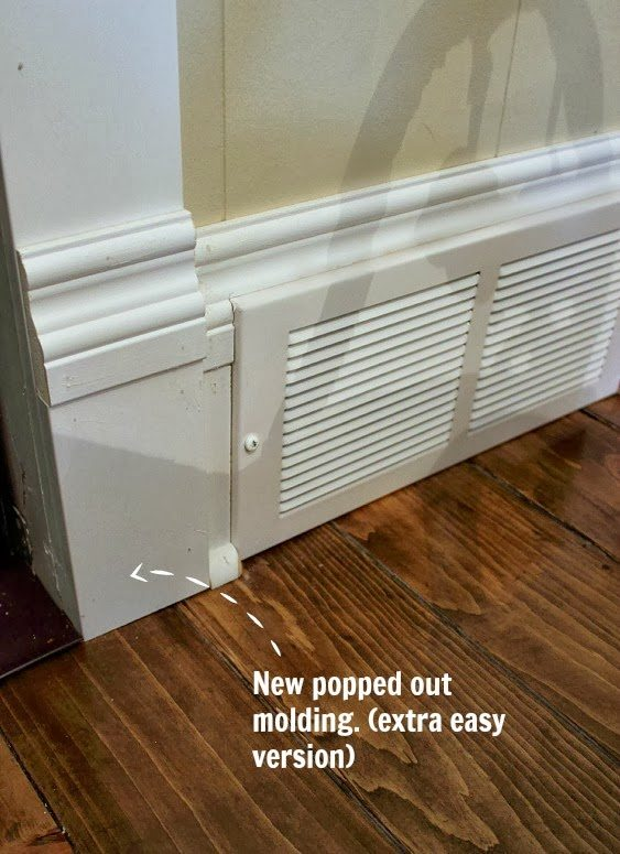 Beautiful Diy Baseboards And Moldings On A Budget The Creek Line House