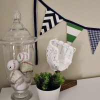 Light and Bright Baby Boy Nursery Makeover (Before and After!)
