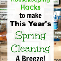 17 Housekeeping Hacks to Make This Year's Spring Cleaning a Breeze!