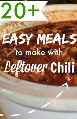 20+ Easy Meals to Make with Leftover Chili - The Creek Line House
