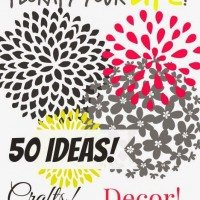 50 ideas for everything floral! Celebrate Spring and florafy your life!
