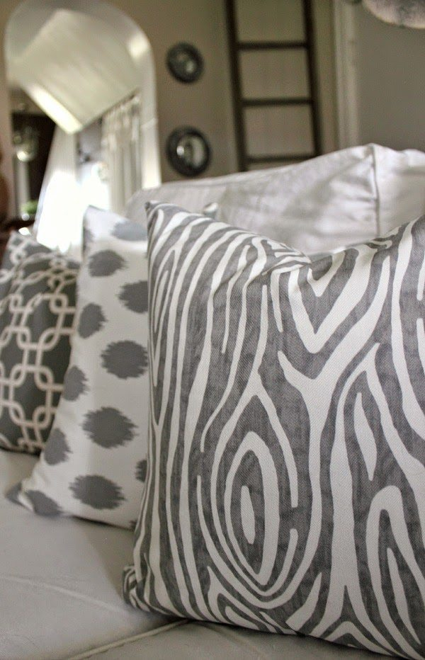 The 40 Minute DIY Pillow Cover The Creek Line House Custom How To Make Sofa Pillow Covers