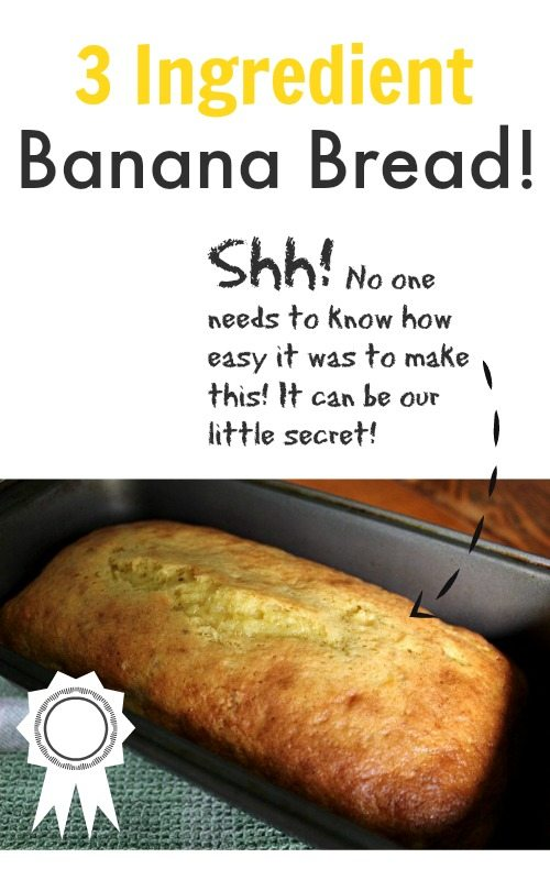 Making Banana Bread With A Cake Mix