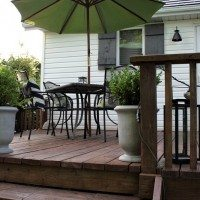 How to recycle your old deck into something new that you love!