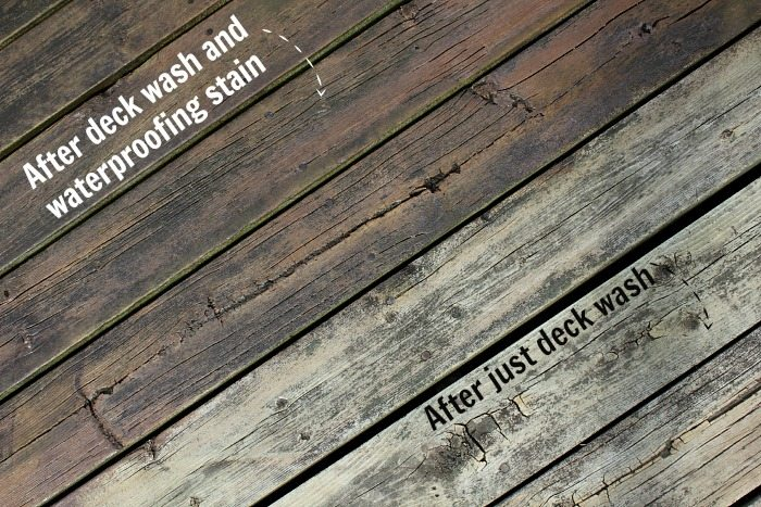 Is your outdoor space in need of a freshening-up but you're worried that staining your deck will take far too much time and effort?  Well, no need to worry when you know this little trick.  This is the fastest way to stain a deck!