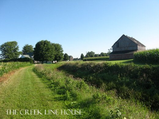 A great real-life farmhouse tour with lots of before and after photos!