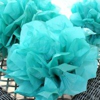 How to make easy tissue paper pompoms