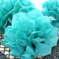How to make easy tissue paper pompoms