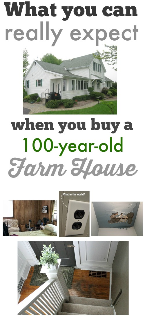 What can you really expect to inherit when you buy an old farm house? I'm sharing all the dirt (sometimes literally)!
