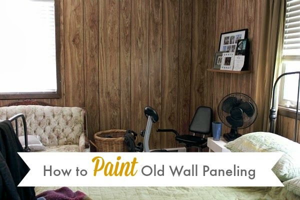 how to paint wall paneling the creek line house. Black Bedroom Furniture Sets. Home Design Ideas