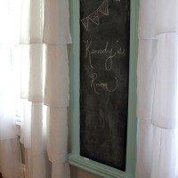 DIY Chalkboard done right!